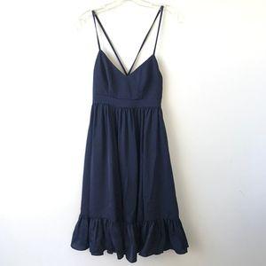 J.Crew Drapey Spaghetti Strap Dress NWT 0P #1357